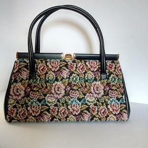 Vintage 1950s Dover Tapestry Handbag